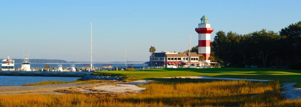 Harbour Town Golf Links on Hilton Head Island, South Carolina