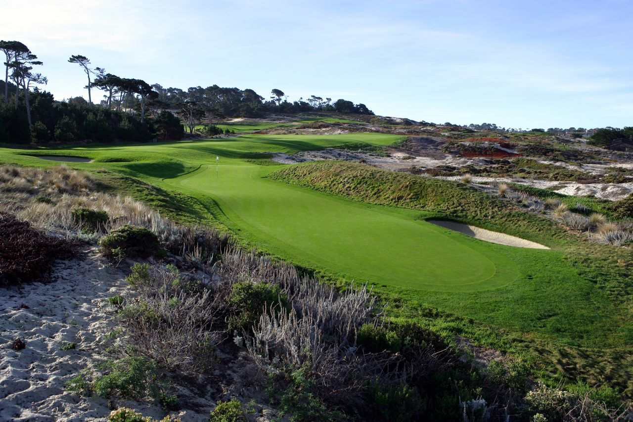 4th Hole, Spyglass Hill Golf Course, Pebble Beach, CA